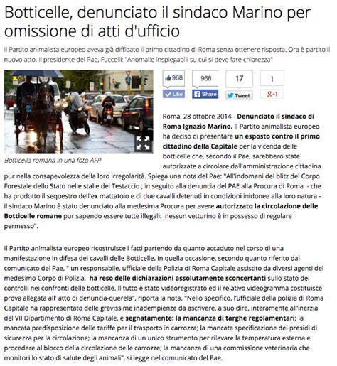 omissioni di atti d ufficio 187 archive 187 botticelle romane denunciato sindaco