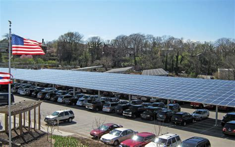 One Car Carport commercial solar power projects for business government
