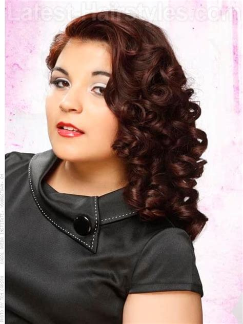 Hairstyles To The Side With Curls by 15 Curled Hairstyles To Try Grab Your Hair Curling Wand
