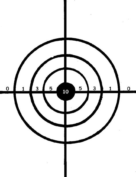 crosman printable targets free target practice pictures download free clip art