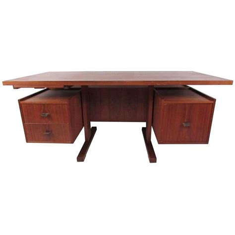 Floating Desk For Sale teak floating top desk for sale at 1stdibs