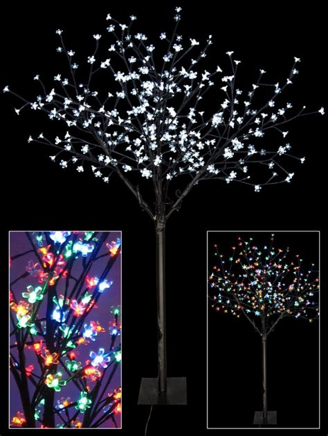 dual colour sequence led cherry blossom tree 1 7m