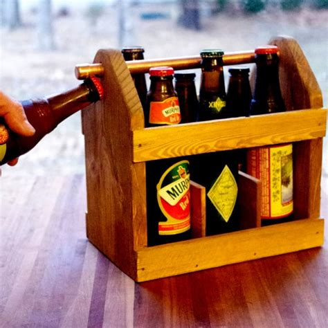 six pack carrier beer carrier beer tote wood beer