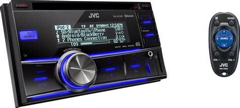 autoradio con porta usb autoradio 2 din bluetooth cd usb sd aux in jvc kw sd70bt