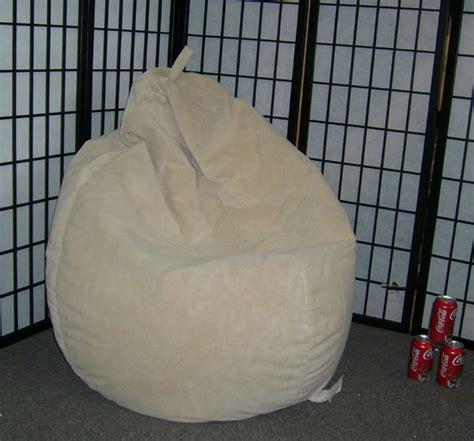 microfiber bean bag chair buff suede microfiber bean bag chair