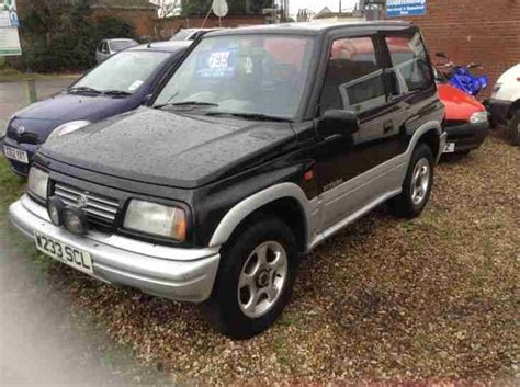 Suzuki Jx For Sale Suzuki 2000 Vitara Jx 4 U Top Black Car For Sale