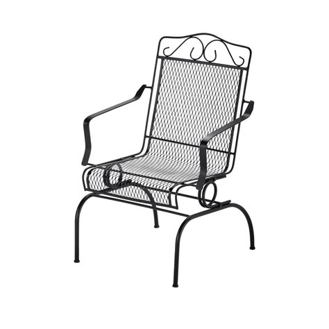 Patio Rocking Chairs Metal Metal Patio Rocking Chairs Best Home Design 2018