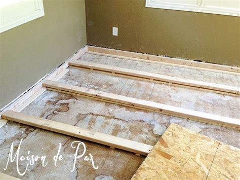 leveling floor for wood cottage kitchen pinterest