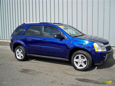 2005 Laser Blue Metallic Chevrolet Equinox Lt Awd 5601807