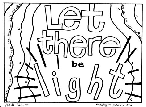 welcome to grace church halewood creation coloring pages