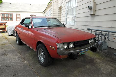 1973 Toyota Celica For Sale Parked Cars 1973 Toyota Celica St