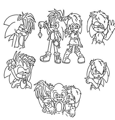 sonic manic coloring pages freecoloring4u com