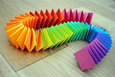 How To Make Paper Garlands - folded paper garland minieco