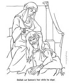 free printable bible coloring pages free coloring pages of samson bible