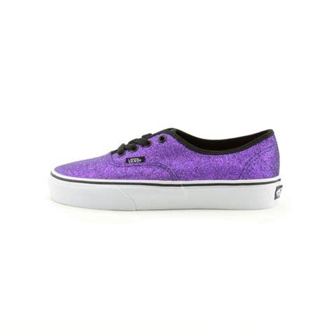 journeys shoes vans authentic glitter skate shoe purple from journeys