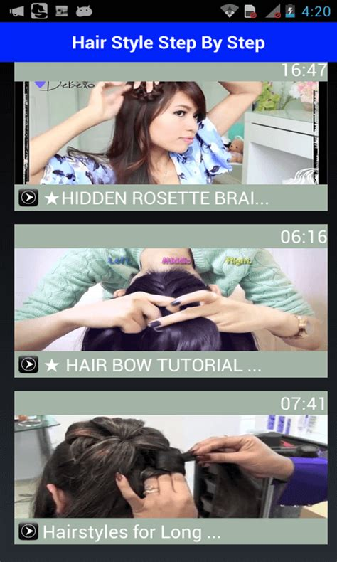 hairstyles app free download girls hair styles videos 2016 free apk android app