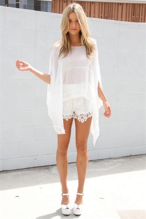 outfits ganz  weiss die den heissen mode trend rocken