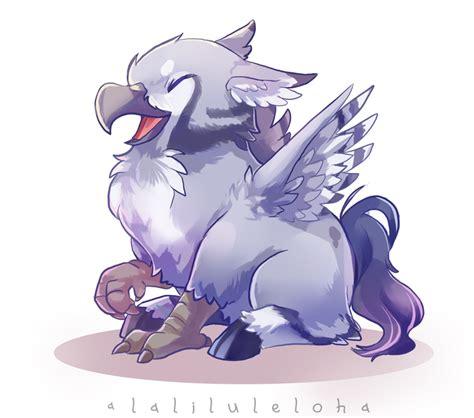 myth creature babies hippogriff by lalaliluleloha on