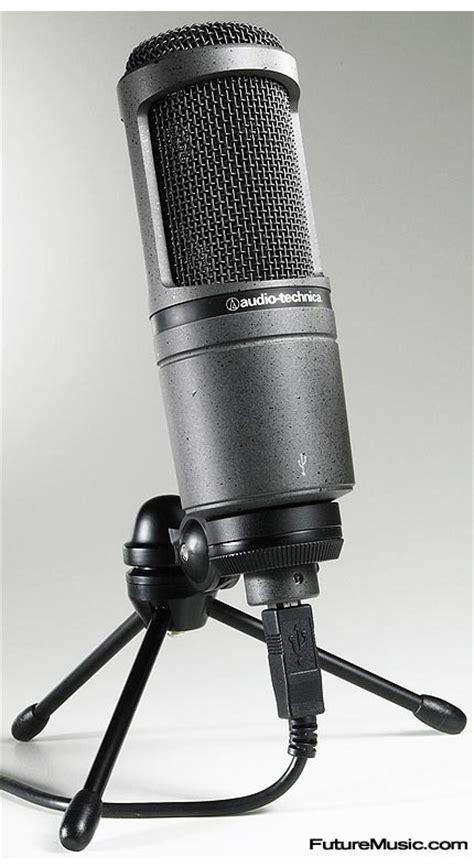condenser microphone vs usb audio technica showcases at2020 usb condenser microphone futuremusic the news on future