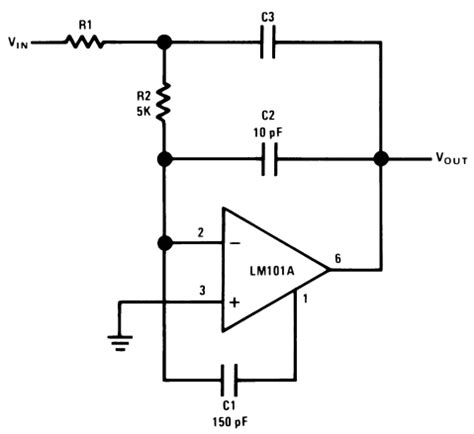 fast integrator circuit op circuit collection basic circuits circuit knowledge