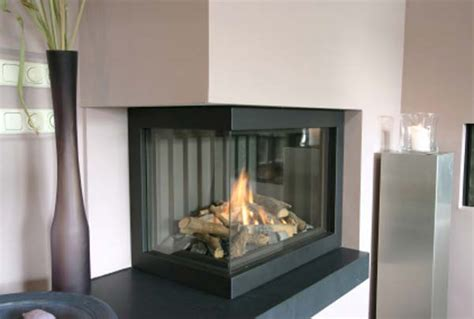 Modern Corner Fireplaces by Corner Fireplace Picture