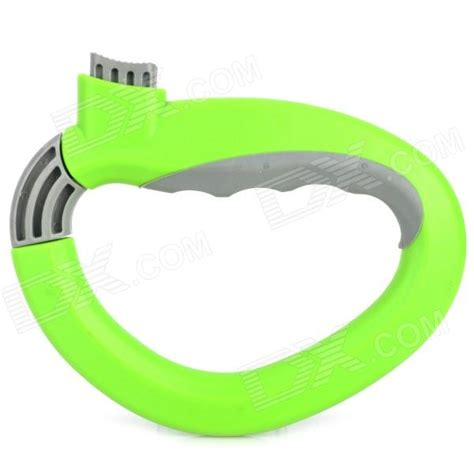 One Shoping One Trip Grip d type one trip grip handle grocery bag locking holder green grey free shipping dealextreme