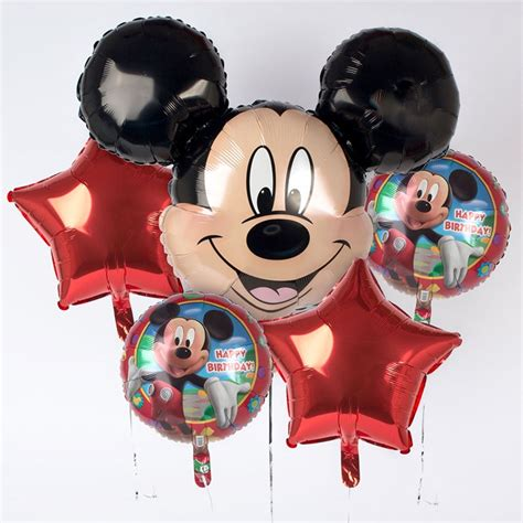 Balon Foil Mickey Balon Kepala Mickey disney mickey mouse foil helium balloon bouquet only 163 12 99