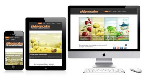 what is a responsive template zmooncake free responsive html5 theme zerotheme
