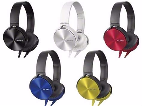 Sony Mdr Xb450ap Bass Headphone Yellow fone ouvido sony mdr xb450ap headphone bass importado r 489 15 em mercado livre