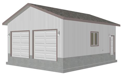 garage plan 24 4 quot x 28 4 quot pdf garage plans blueprints free sle