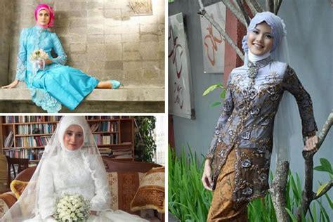 Foto Baju Kebaya Berjilbab wedding concept kebaya modern