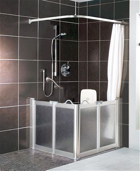 Half Height Shower Doors Contour Corner Access Wf1 Luxe Silver Half Height Shower Doors Screens