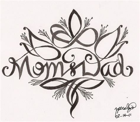 mum and dad tattoo designs and tattoos s day and by
