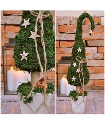 Natur Deko Weihnachten by Natur Deko Advent Weihnachten Moos Tannenbaum
