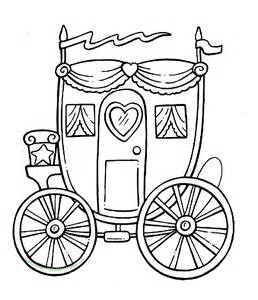 coloring pages and carriage princess carriage coloring in sheet