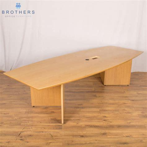 Oak Boardroom Table Chevron Oak Veneer 3000x1200 Boardroom Table