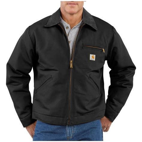 carhartt jacket s carhartt 174 duck detroit jacket 227118 insulated jackets coats at sportsman
