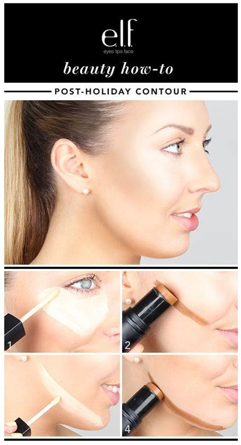 tutorial makeup elf head to face shapes and facts on pinterest