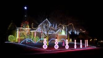lawrence kansas christmas light display tour