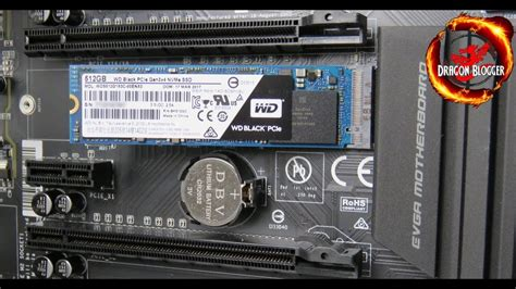 Pcie Ssd For Gaming Motherboard Wd Black Pcie 256gb how to install the 512gb wd black pci e m 2 nvme ssd wds512g1x0c
