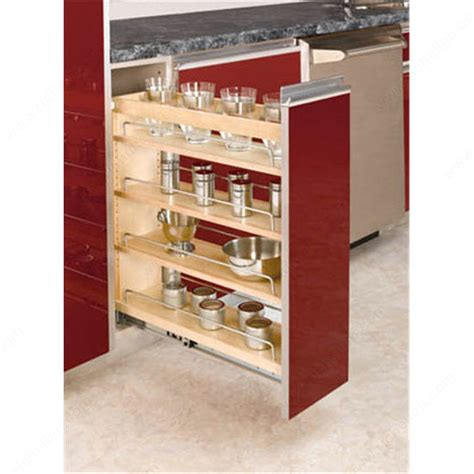 Pull Out Cabinet Organizer by Pull Out Organizer For Base Cabinet Richelieu Hardware