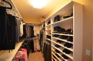 long narrow walk in closet quot closet curves quot patented modular closet system etsco