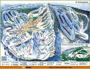 california ski resort map valley ski hill alpine resort