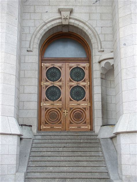 The Door Slc meanings of the symbols on the doors on the salt lake temple
