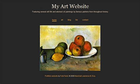 free website templates for artists minimalist website design now available from foliotwist
