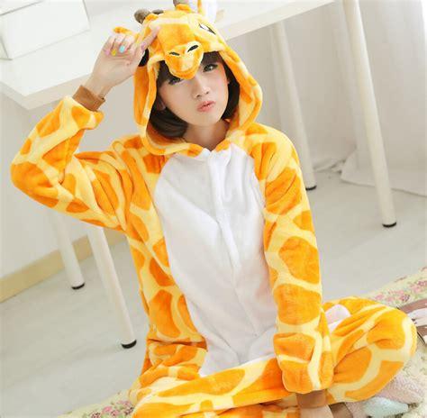 Piyama Sleepy Giraffe onesie children kigurumi giraffe pajamas pyjamas
