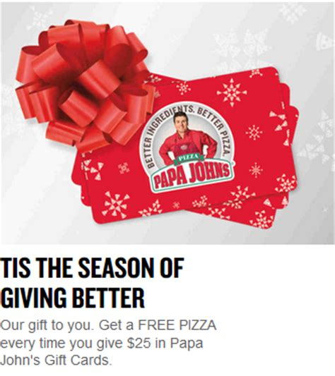 Free Papa John S Gift Card - how to increase restaurant sales cps cards