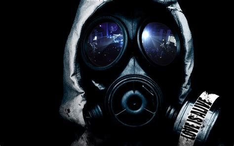 gas mask gas masks wallpaper 1440x900 wallpoper 244573
