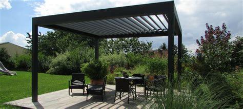 pavillon mit lamellendach 220 berdachungen f 252 r terrassen wintergaerten ehret