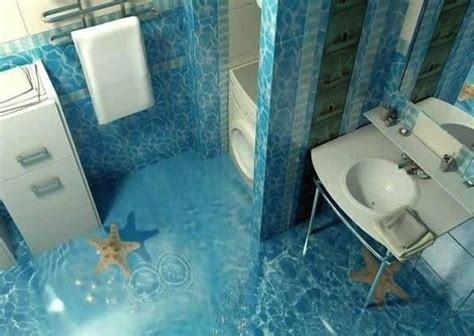 Bathroom Dolphin by 13 3d Bathroom Floor Designs That Will Mess With Your Mind